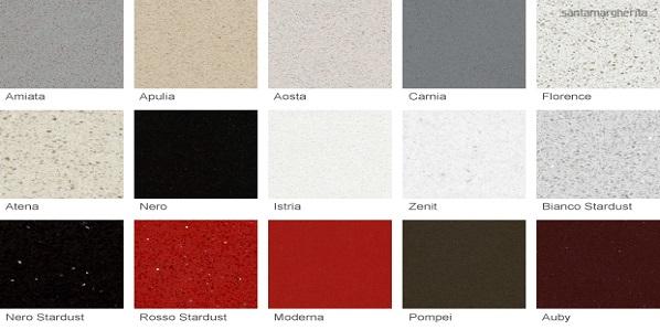 Encimeras de cocina de piedra natural m rmol y granito o for Marmol de colores vivos